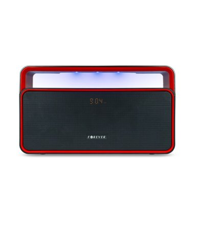 Forever  Głośnik Bluetooth BS-600 Black Red