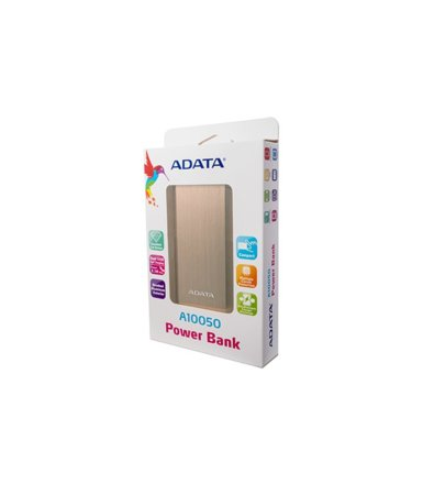 Adata Power Bank AA10050 10050 mAh Gold 3.1A