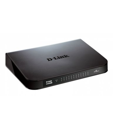 D-Link GO-SW-24G 24-Por GIGABIT DESKTOP SWITCH