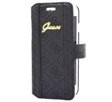 GUESS Etui GUFLBKP7SCBK book iPhone 7 czarny SCARLETT