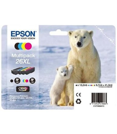 Epson Multipack T2636 PHOTO CMYK do XP-600/700/800