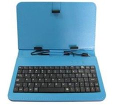 Rebeltec etui do tabletu z klawiaturą QUWERTY 7cal KS7 BLUE
