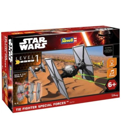 REVELL Star Wars Tie fig hter 'Built&Play