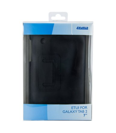 4world ETUI DO GALAXY TAB 2 7'' ULTRA SLIM CZARNE