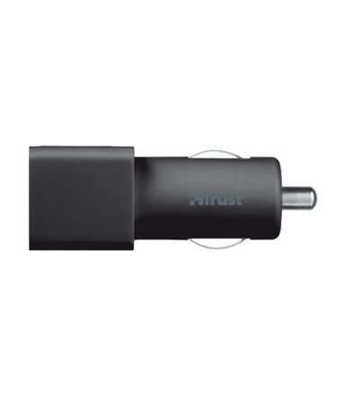 Trust 12W Car Charger with 2 USB ports - black