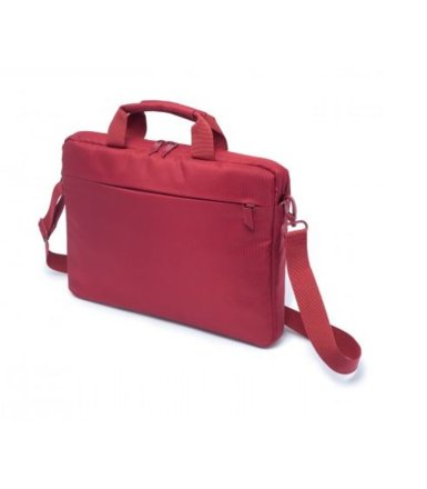 "DICOTA Code Slim Case 13"" Red - czerwona torba na Macbook lub notebook 13.3"" i tablet do 10"""