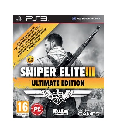 Techland Sniper Elite III Ultimate Edition PS3 PL