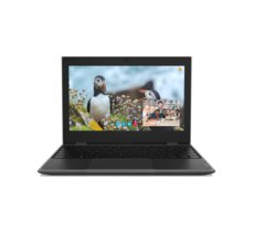 Lenovo Laptop 100e STF 81M8000PPB W10Pro EDU Academic N4100/4GB/128GB/INT/11.6 HD/Black/1YR CI