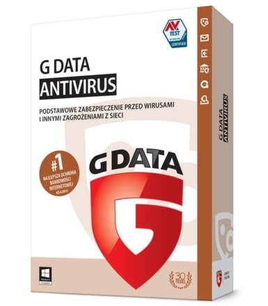 G DATA AntiVirus 2015 UPGRADE 2PC 1ROK BOX