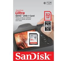 SanDisk Ultra SDHC 32GB 80MB/s UHS-I Class 10