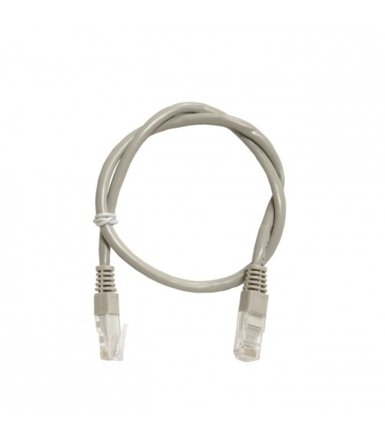 ART Patch cord 0,5m UTP 5e szary
