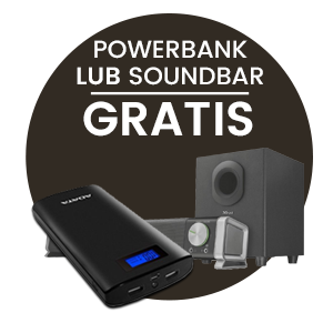 Powerbank lub soundbar Gratis
