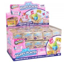 Figurki Happy Places Shopkins 3-pak Stand/30 sztuk