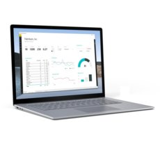 Microsoft Surface Laptop 3 Win10Pro i5-1035G7/8GB/256GB/15 Commercial Platinum RDZ-00008