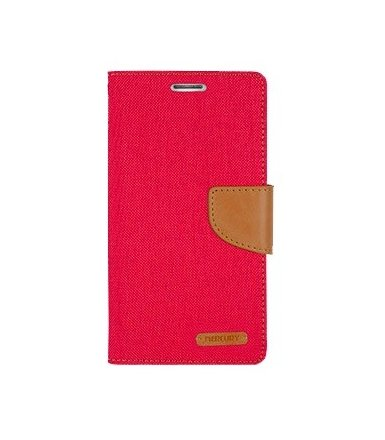 Mercury Etui CANVAS Xperia Z5 Mini czerwono/karmelowe, notes