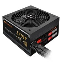 Thermaltake Toughpower 550W Modular (80+ Gold, 2xPEG, 140mm, Single Rail)