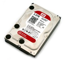 Western Digital Red 3TB 3,5'' 64MB SATAIII/5400rpm
