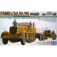 Model plastikowy FAMO with Tank Transporter