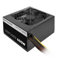 Thermaltake Litepower II Black 650W (Active PFC, 2xPEG, 120mm, Single Rail)