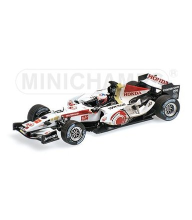 Honda F1 Racing RA106 #12 Jenson Button Winner Hungary GP 2006 Dirty Version