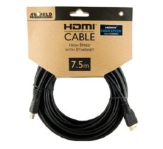 4world Kabel HDMI High Speed z Ethernetem  (v1.4), 7.5m