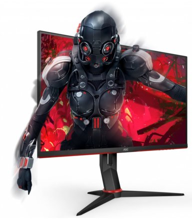 AOC Monitor 27 27G2U/BK IPS 144Hz 1ms DP HDMI Pivot