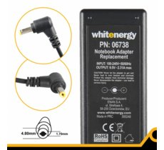 Whitenergy Zasilacz 9.5V | 2.31A 22W wtyk 4.8*1.7 mm Asus EEE PC 701  06738