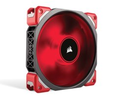 Corsair Wentylator ML120 PRO LED RED 120mm   Premium Magnetic Leviation Fan