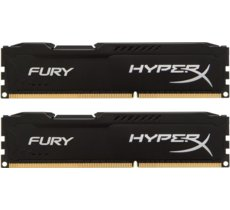 HyperX DDR3 Fury 16GB/ 1600 (2*8GB) CL10 BLACK