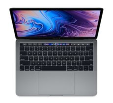 Apple MacBook Pro 13 Touch Bar, 2.4GHz quad-core 8th i5/16GB/256GB SSD/Iris Plus Graphics 655 - Space Grey MV962ZE/A/R1