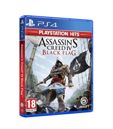 UbiSoft Gra PS4 Assassins Creed IV Black Flag HITS