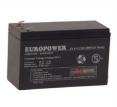 EuroPower AKUMULATOR EUROPOWER EP 12V 9Ah