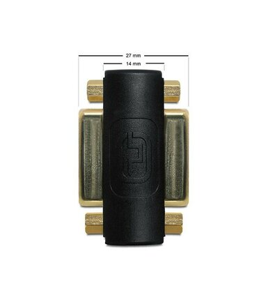 Delock Adapter DVI-I(F)(24+5)->DVI-I(F)(24+5)
