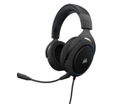 Corsair HS50 CARBON Stereo Gaming Headset BLUE