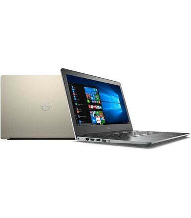 "Dell Vostro 5568 Win10Home i5-7200U/1TB/4GB/Intel HD/15.6""HD/KB-Backlit/3-cell/Gold/3Y NBD"