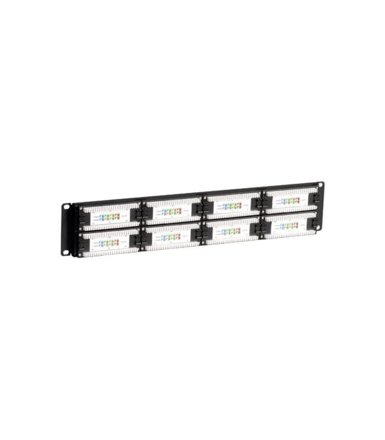 "Linkbasic Patch panel 19""/2U, UTP, kat. 5e, 48 portów"