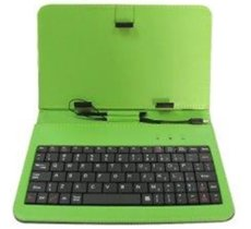 Rebeltec etui do tabletu z klawiaturą KS7 GREEN