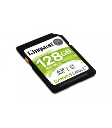 Kingston SD 128GB Canvas Select 80/10MB/s
