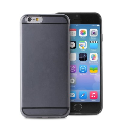 PURO Plasma Cover etui iPhone 6 czarny