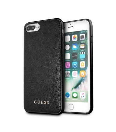 GUESS GUHCI8LIGLBK hardcase iPhone 7/8 Plus czarny Iredescent