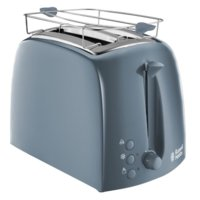 Russell Hobbs Toster Textures Grey   21644-56