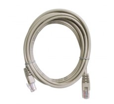 ART Patch cord 7,5m UTP 5e szary