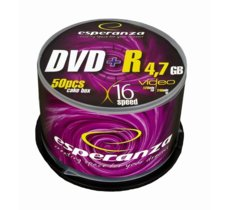 Esperanza DVD+R 4,7GB x16 - Cake Box 50