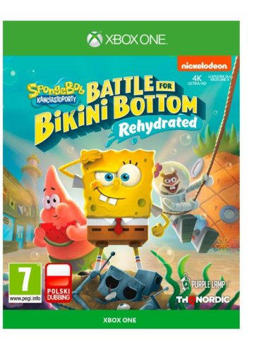 KOCH Gra XOne SpongeBob Square Pants Battle for Bikini Bottom        Rehydrated