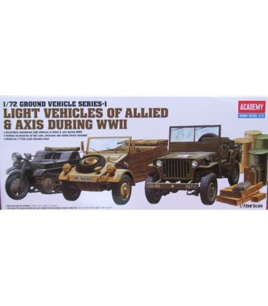 Light Vehicles of Allied & Axis