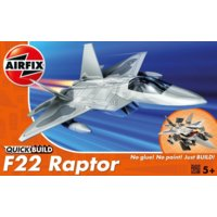 Model plastikowy QUICKBUILD F-22 Raptor