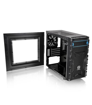 Thermaltake Versa H13 microATX USB3.0 Window (120 mm), czarna
