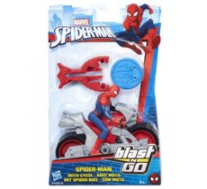 Hasbro Spider-man Ścigacz Blast Spider Man with Cycle
