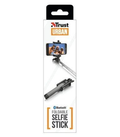 Trust UrbanRevolt Bluetooth Foldable Selfie Stick - black