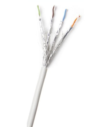AT&T Cabling 4 PARY S/FTP KAT6A SZARY KABEL 500M LS0H